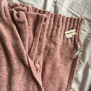 soft, light pink scarf from garage-NWT